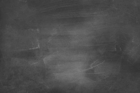 Craie effacée sur fond de tableau noir