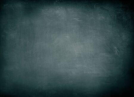 Closeup of blue chalkboard background