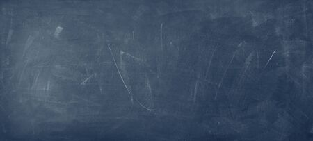Closeup of blue chalkboard background