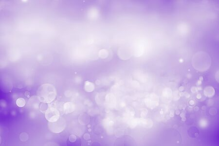 Abstract blurred soft circles bokeh purple background