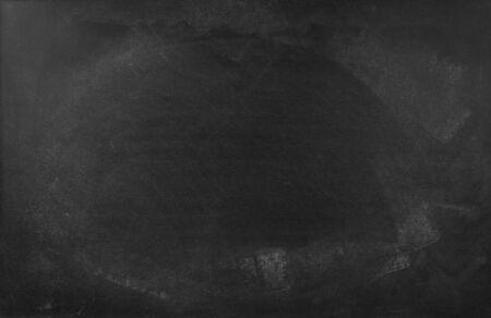 Gesso cancellato sul fondo della lavagna