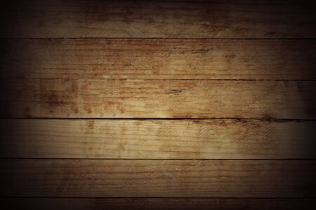 Closeup of wooden boards background 写真素材 - 132091328