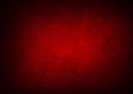 Fondo strutturato rosso del muro di cemento. Sfondo di Natale. Copia spazio