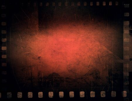 Film strips negative frames background 写真素材 - 132090800