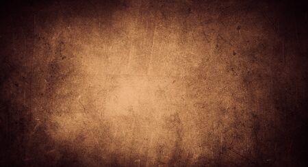 Fond grunge texturé de couleur marron