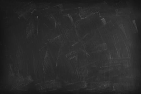 Chalk rubbed out on blackboard background 写真素材 - 131264570