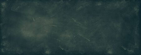 Chalk rubbed out on blackboard background 写真素材 - 131409114