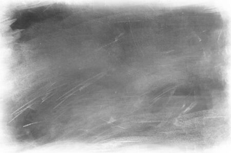 Chalk rubbed out on blackboard background 写真素材 - 131619361