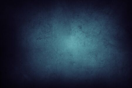 Closeup of blue textured background. Dark edges 写真素材 - 131816386