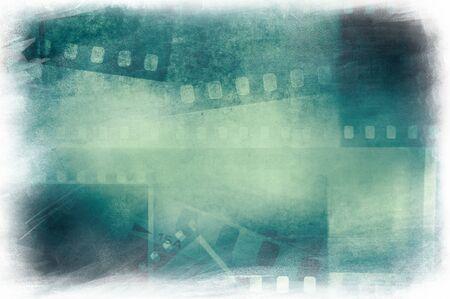 Film negative frames background