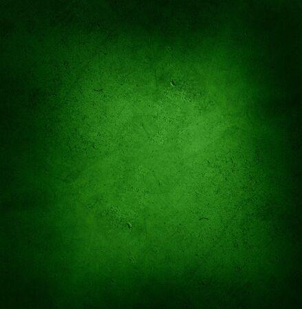 Closeup of green textured wall, dark edges