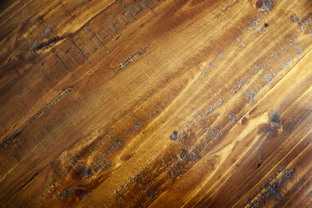 Closeup of wooden boards surface