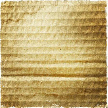 Close-up of grunge brown cardboard texture 版權商用圖片