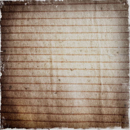 Close-up of grunge lined paper background Stock fotó