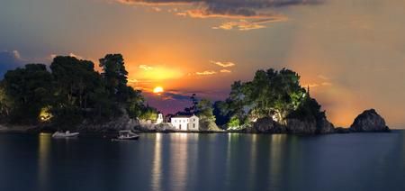 island in Parga-Greece