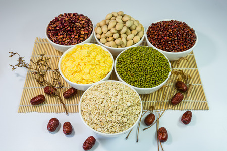 red gram: grain Stock Photo