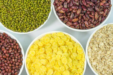 green bean: grain Stock Photo
