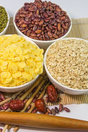 cornflakes: cornflakes, oat, ginkgo, and red dates