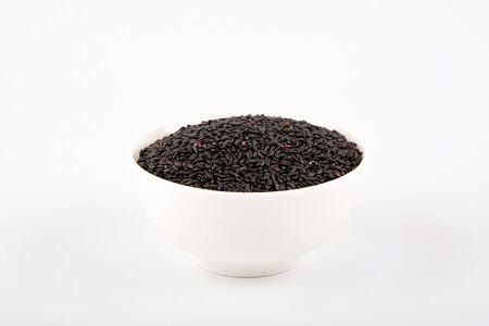 Arroz negro Foto de archivo - 43868739
