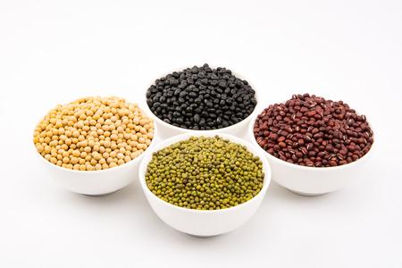 green bean: red bean, black bean, green bean and Soybean