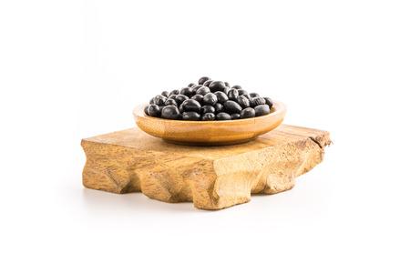 soya bean: black soya bean