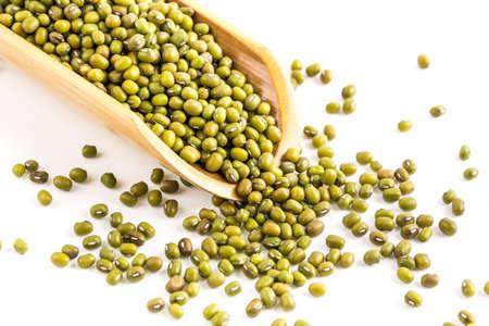 mung: mung beans Stock Photo
