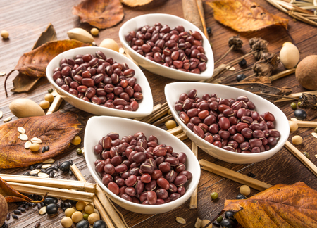 roughage: red beans