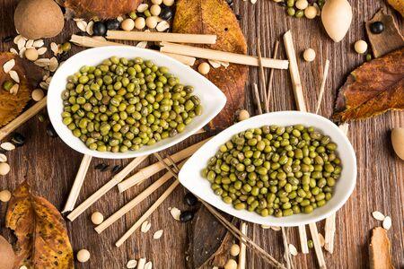 mung:  mung bean Stock Photo
