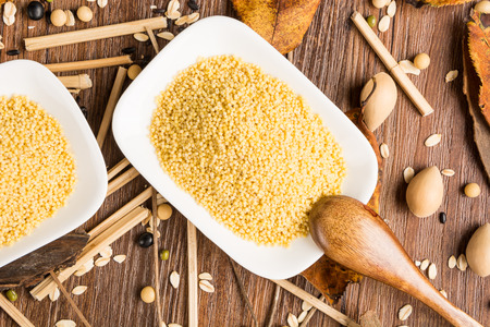 roughage: millet