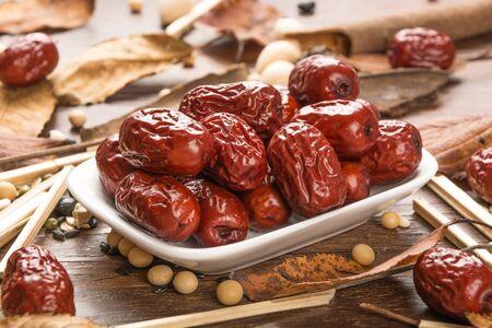red dates Stockfoto