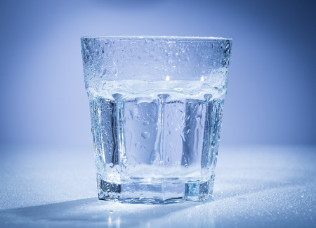 cup of water: a cup water Stock Photo