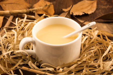 cofe: milky tea Stock Photo