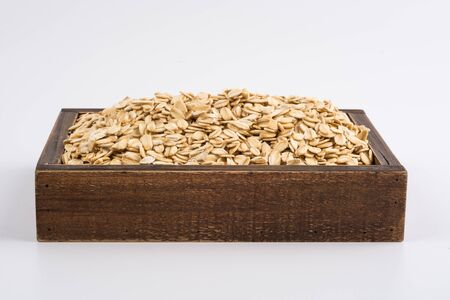 rolled: Rolled oats