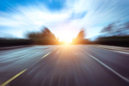 도로의 빠른 개념 스톡 콘텐츠
