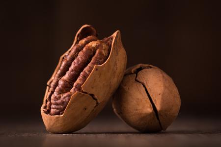 Pecan nuts Stockfoto