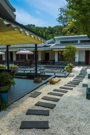 External of resort hotel Editorial
