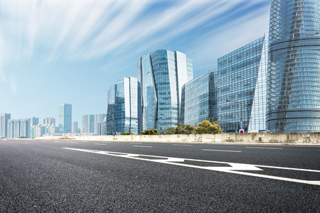way to modern city