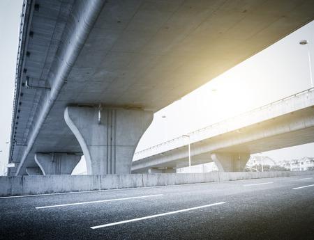 overpass: Highway overpass