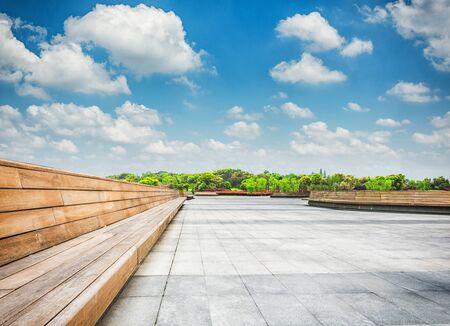 The beautiful park Stock Photo