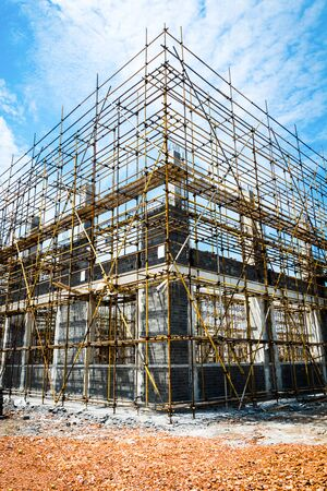 large building-site Stock Photo