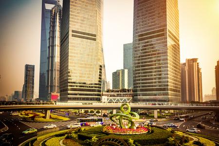 crossover: Shanghai lujiazui