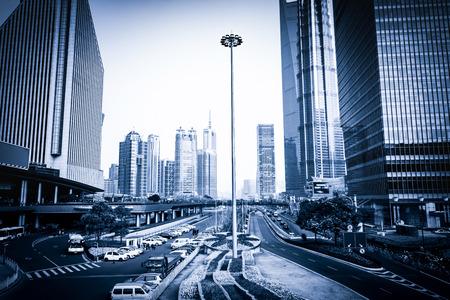 overbridge: Shanghai lujiazui