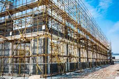 large building-site Stockfoto