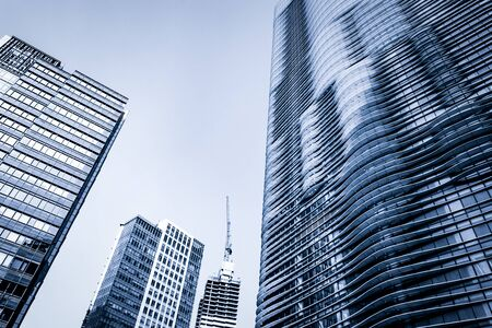 corner house: modern business center in hongkong Editorial