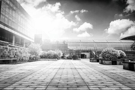 medium: Large modern office building