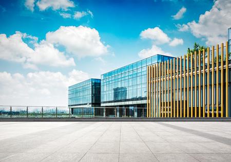 Grote moderne kantoorgebouw