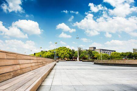 Stadtbild und Skyline von Chongqing Standard-Bild - 92684364