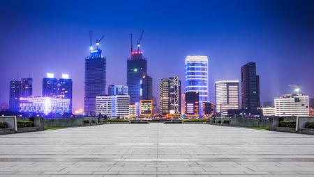 Shanghai at night view, China
