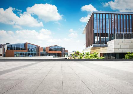 대형 현대 오피스 빌딩