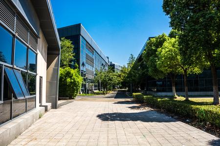 prédio de escritórios moderno